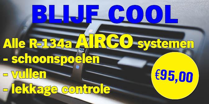 Blijf Cool Airco aanbieding