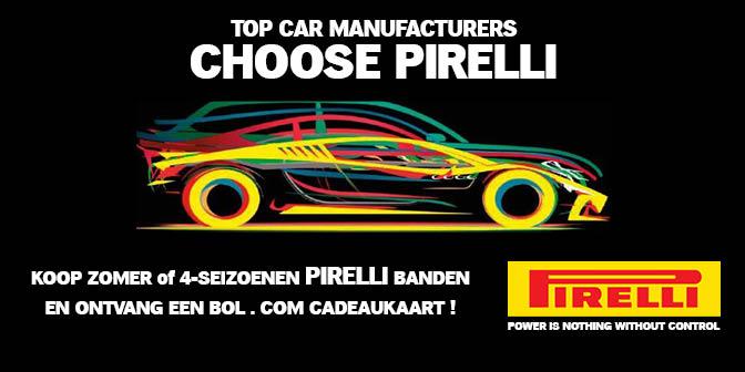 Pirelli actie