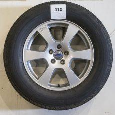 Set Volvo XC60 17 inch velgen met Bridgestone banden