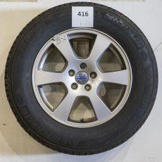 Set Volvo XC60 17 inch velgen met Michelin banden