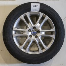 Set Volvo XC60 18 inch velgen met Nokian banden