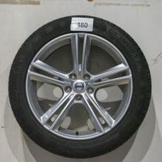 Set Volvo  18 inch velgen met continental banden